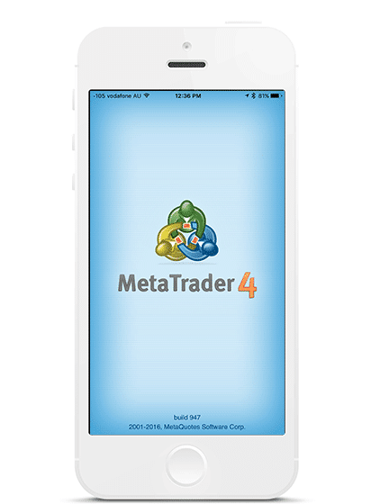 Metatrader smartphone Go markets