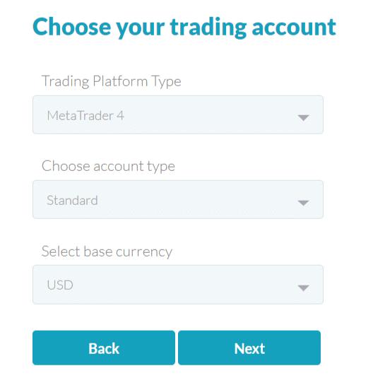 fp markets tipi di conto